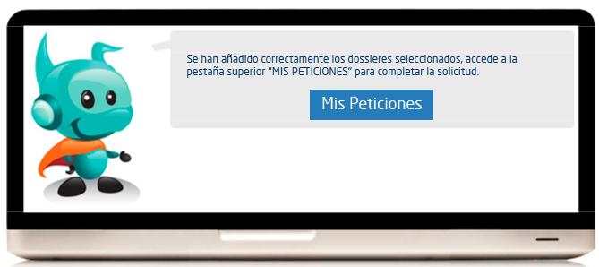 Cuestionario de Intereses Profesionales Peticiones